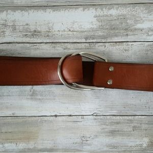 Genuine leather fossil belt
